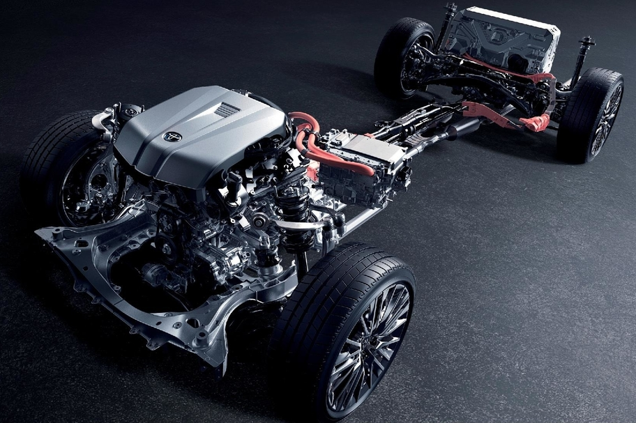 3.5L V6 ENGINE 8GR-FXS × MULTI STAGE HYBRID SYSTEM イメージ